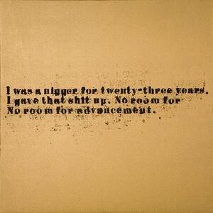 No Room (Gold) #18