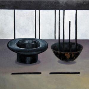帽子、筷子和碗