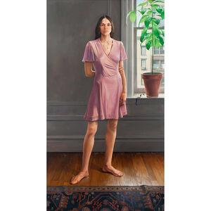 Portrait of Diana II (Pink Dress)