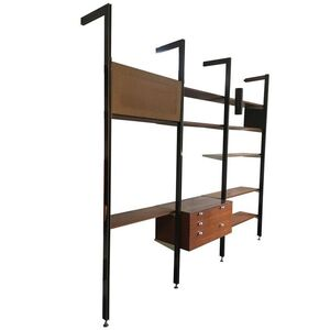 George Nelson Three Bay CSS Shelving Unit