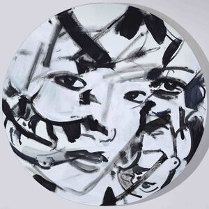 Revolving Painting (Portraits)