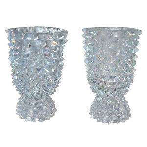 Huge pair of Murano glass lamps by Ercole BAROVIER