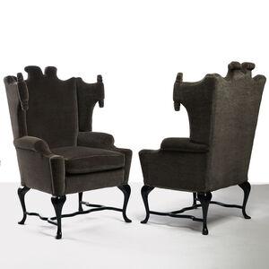 Arturo Pani - Wingback Chairs