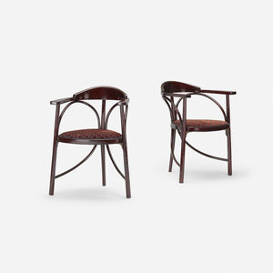 Three-Legged chairs model no. 81, pair