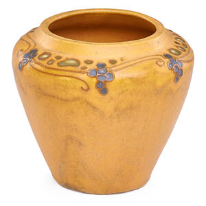 Arequipa, Vase Squeezebag-Decorated With Stylized Grapes, Fairfax, CA