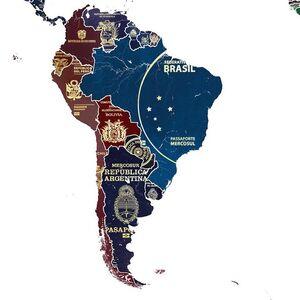 World Passport Map