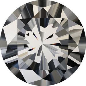 Clear Diamond (with rainbows)
