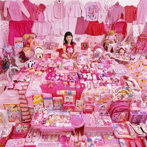 Jiwoo and Her Pink Things