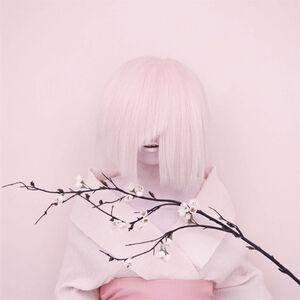 The Sakura Bride. Self-portrait