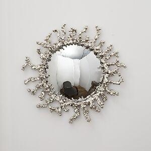 White Cristal Handmade Mirror