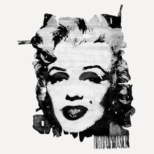 ANDY WARHOL MARILYN, 1967 DESIGN BY CALLE HENZEL AKKAJAUR NIGHT EDIT, 2015