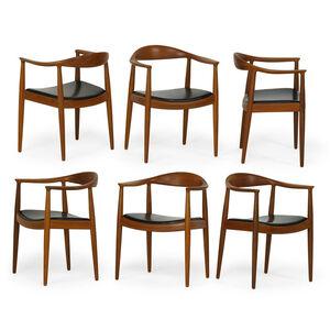 Set of six The Chair, Denmark
