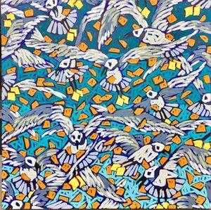 Cheez-Its (Feeding the Gulls)