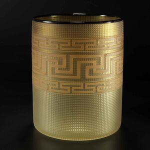 Tlingit Basket Light Amber / Black Lip