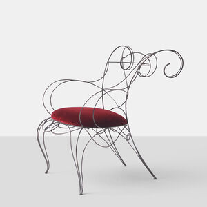 Andre Dubreuil Ram Arm Chair