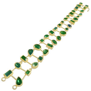 One of a Kind Green Tourmaline Bracelet