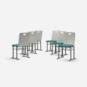 A500 dining chairs, set of six