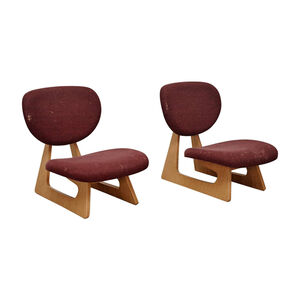 Pair of No. 5016 Lounge Chairs