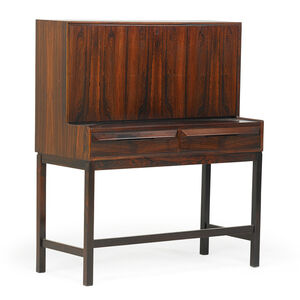 Torbjorn Afdal For Bruksbo Rosewood Secretary Desk