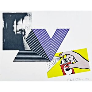 THE APPROPRIATION PRINT (Andy Warhol, Frank Stella, Roy Lichtenstein)