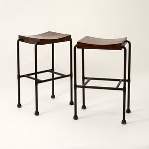 Pair of MT 344 Bar Stools