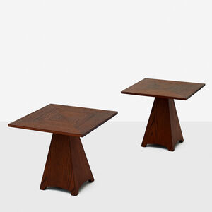 Pair of Side Tables by Harvey Probber