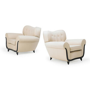 Pair of lounge chairs, Italy
