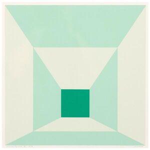Mitered Squares (Miami Green)
