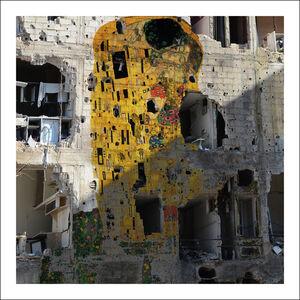 Freedom Graffiti, Gustav Klimt's 'The Kiss'