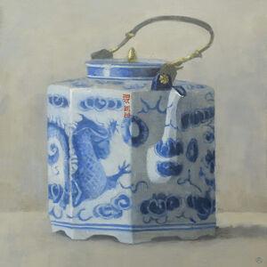 Teapot with Dragon
