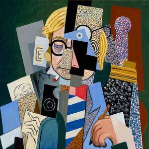 Anachronistic Portrait (David/Picasso)