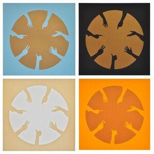 Circle of hands I, II, III & IV