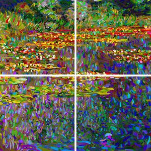 Monet as a pretext - Le Bassin des Nymphéas No 1