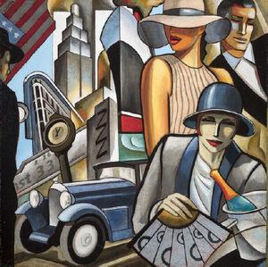 French Line - Paris, Le Havre, New-York