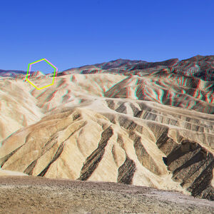 Constructions 01 | Death Valley comes with 3D glasses
