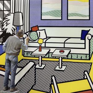 Roy in Yellow Interior