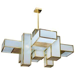 Amazing chandelier attributed to Jean Perzel