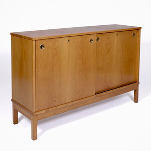 Custom sideboard in oak (part of a suite) by Peder Moos for Erik Hohwü-Christensen