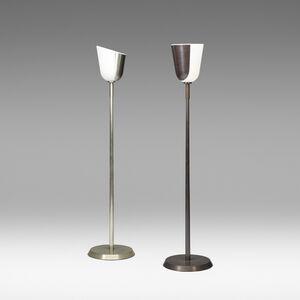 floor lamps, pair