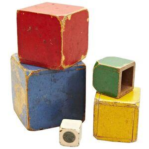Set of Toy Cubes