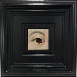 Eye XVII (after Ingres)