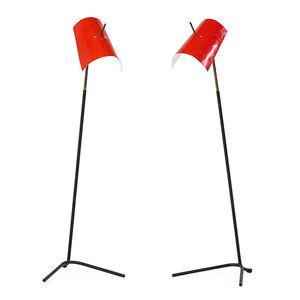 Pair of Claritas floor lamps, Italy