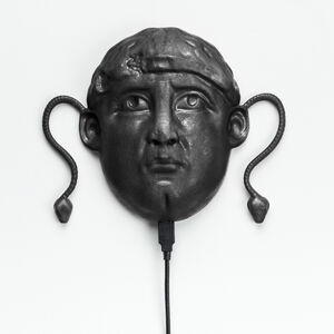 South Ivan Human Heads: Medusa Head (Black)