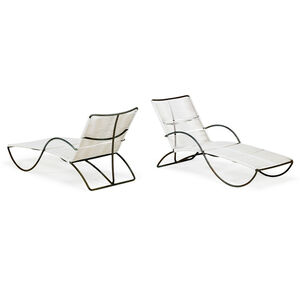Pair of Chaises Longues (No. C4700), USA