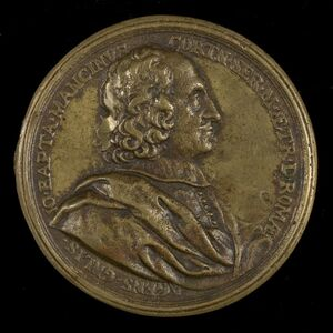 Giovanni Battista Mancini, d. 1694, Agent General of Tuscany in Rome [obverse]