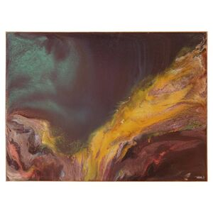 Deep Abstract Oil Painting
