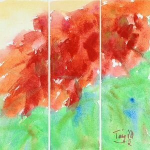 Untitled No. 5, Triptych
