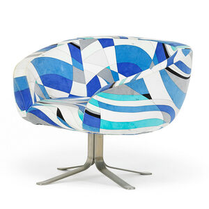Rive Droite swivel arm chair, France/Italy