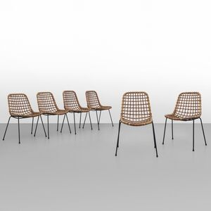 A set of six chairs 'BS 1' model