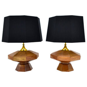 Arturo Pani Pair of Table Lamps